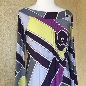 Laundry by Design Multicolored Dress Size 6